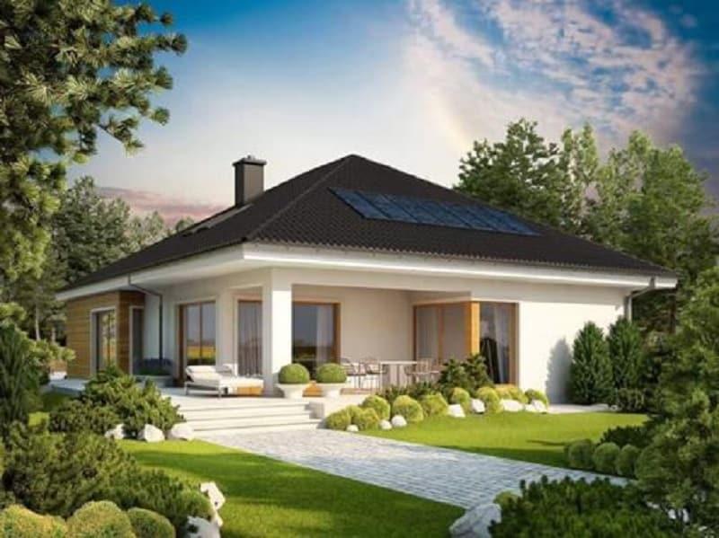 Thiết kế nhà vườn cần có sự liên kết không gian